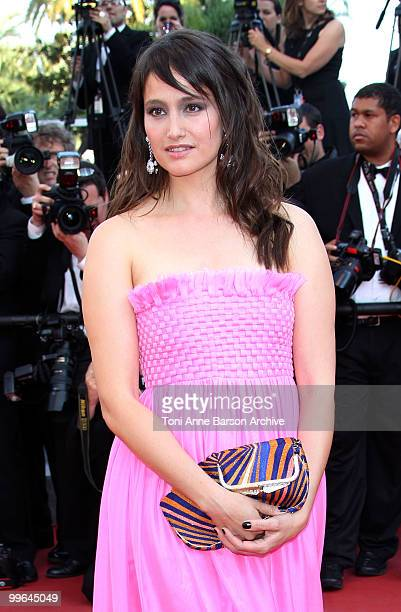Actress Marie Gillain attends the premiere of 'Biutiful' held at the Palais des Festivals during the 63rd Annual International Cannes Film Festival...
