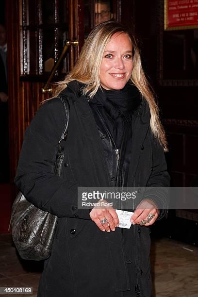 Actress Marie Guillard arrives at the 52nd 'Gala de l'Union des Artistes' at Le Cirque d'Hiver on November 18, 2013 in Paris, France.