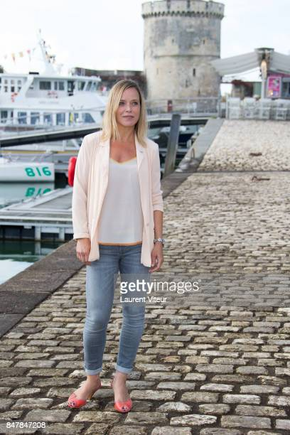 Actress Marie Guillard attend Marjorie il etait une Fois Photocall during the 19th Festival of TV Fiction at La Rochelle on September 16 2017 in La...