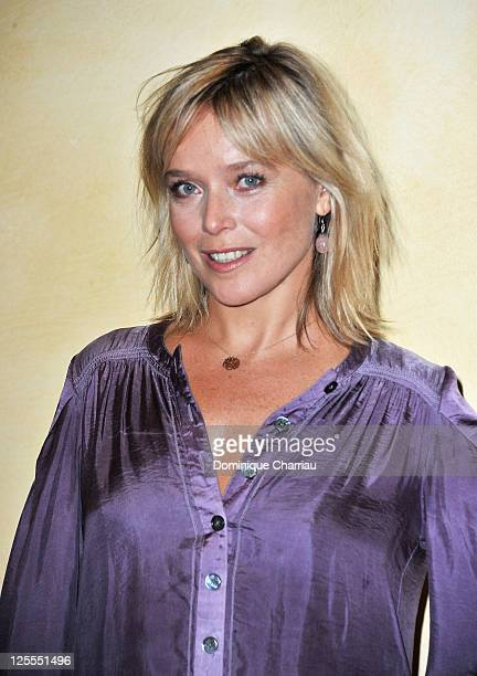 Actress Marie Guillard poses at the photocall for 'Angele et Tony' at Hotel Renoir during the Festival of Sarlat on November 11 2010 in Sarlat France