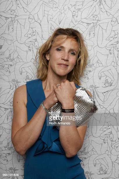 Actress Marie Kremer is photographed for Self Assignment on June 2018 in Cabourg France