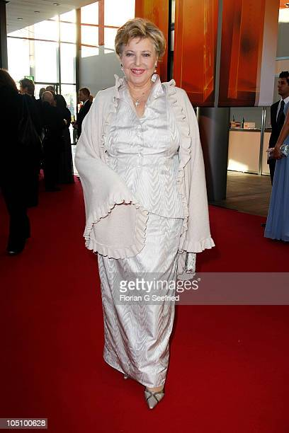Actress Marie Luise Marjan attends the German TV Award 2010 at Coloneum on October 9 2010 in Cologne Germany