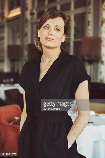 Actress Marie Madinier is photographed for Self Assignment on June 11 2016 in Cabourg France