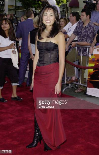 Actress Marie Matiko arrives at the premiere of her new film The Art of War August 23 2000 at Mann's Chinese Theater in Hollywood CA