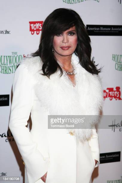 Actress Marie Osmond attends the 80th anniversary Hollywood Christmas parade benefiting Marine Toys For Tots on November 27 2011 in Hollywood...