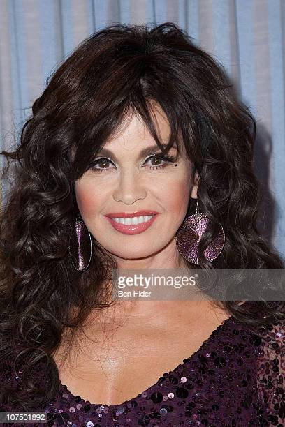 Actress Marie Osmond attends the opening night of Donny Marie A Broadway Christmas at the Marriott Marquis Theater on December 9 2010 in New York City