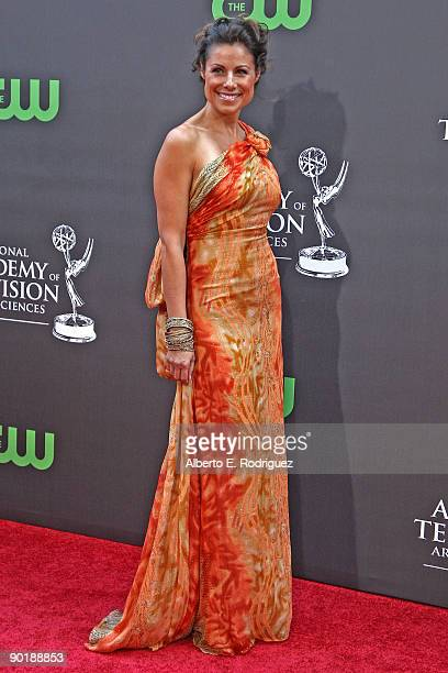 Actress Marie Wilson arrives at the 36th Annual Daytime Emmy Awards at The Orpheum Theatre on August 30 2009 in Los Angeles California