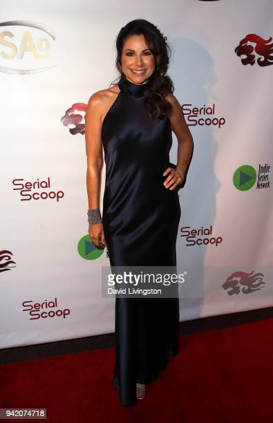 Actress Marie Wilson attends the 9th Annual Indie Series Awards at The Colony Theatre on April 4 2018 in Burbank California