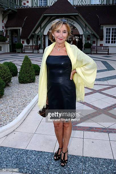 Actress MarieAnne Chazel attends the Hotel Normandy ReOpening at Hotel Normandy on June 18 2016 in Deauville France