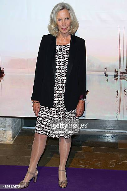 Actress MarieChristine Adam attends 'Le Secret d Elise' Photocall during the 17th Festival of TV Fiction At La Rochelle on September 10 2015 in La...