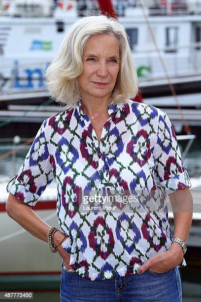 Actress MarieChristine Adam attends the 'Le Secret D'Elise' Photocall during the 17th Festival of TV Fiction At La Rochelle on September 11 2015 in...