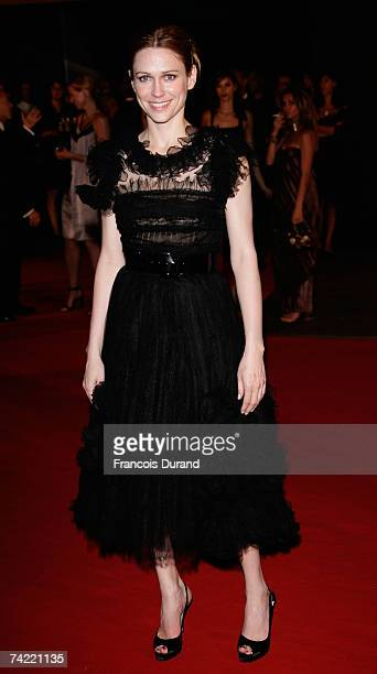 Actress Marie-Jose Croze attends a party promoting the movie 'Le Scaphandre Et Le Papillon' during the 60th International Cannes Film Festival on May...