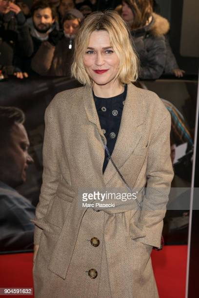 Actress MarieJosee Croze attends the 'Pentagon Papers The Post' Premiere at Cinema UGC Normandie on January 13 2018 in Paris France