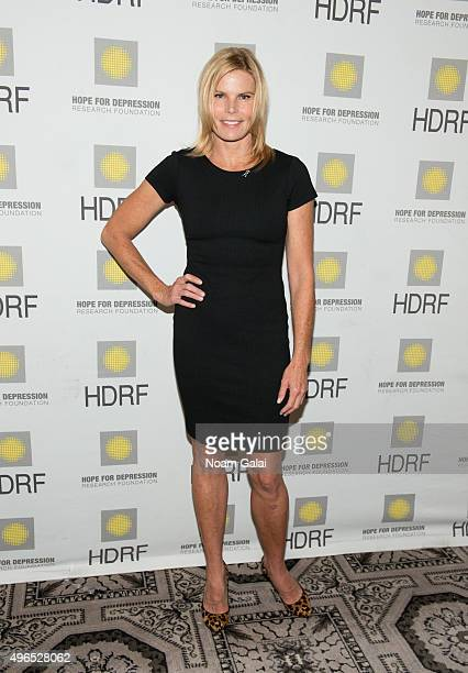 Actress Mariel Hemingway attends the 2015 Hope For Depression Research Foundation luncheon at 583 Park Avenue on November 10 2015 in New York City