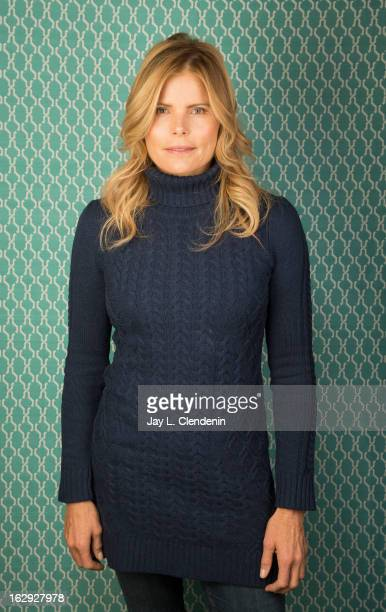 Actress Mariel Hemingway is photographed at the Sundance Film Festival for Los Angeles Times on January 22 2013 in Park City Utah PUBLISHED IMAGE...