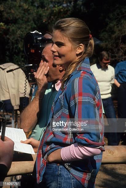 Actress Mariel Hemingway standing in c1982 in Los Angeles California
