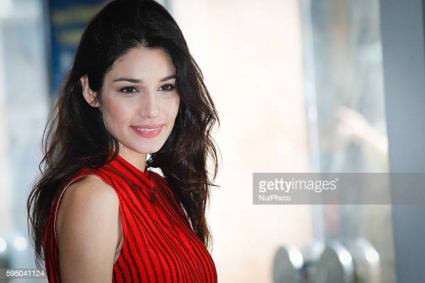 "Actress Mariela Garriga attends ""Friends as we"" photocall in Rome - Cinema Adriano"