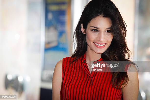 """Actress Mariela Garriga attends """"Friends as we"""" photocall in Rome - Cinema Adriano"""