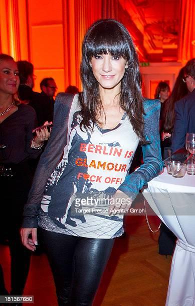 Actress Mariella Ahrens attends the 'Fest der Eleganz und Intelligenz' at Villa Siemens on September 20 2013 in Berlin Germany