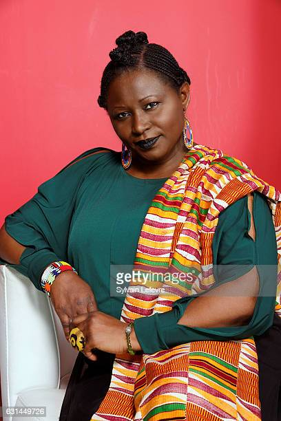 Actress MariePhilomene Nga is photographed for Self Assignment on January 9 2017 in Lille France