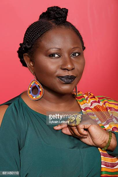 Actress Marie-Philomene Nga is photographed for Self Assignment on January 9, 2017 in Lille, France.