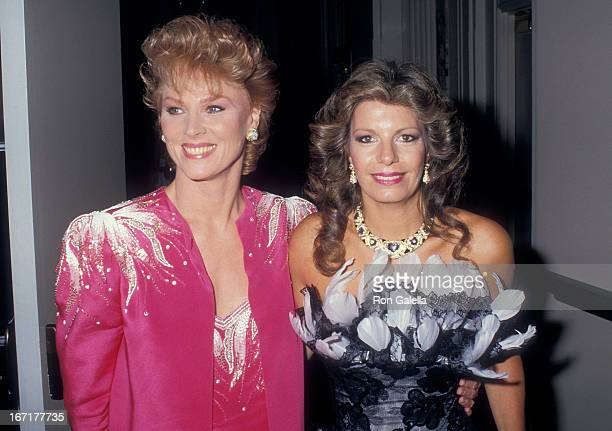 Actress Mariette Hartley and Princess Yasmin Aga Khan attend the Third Annual Rita Hayworth Gala to Benefit the Alzheimer's Association on May 11...