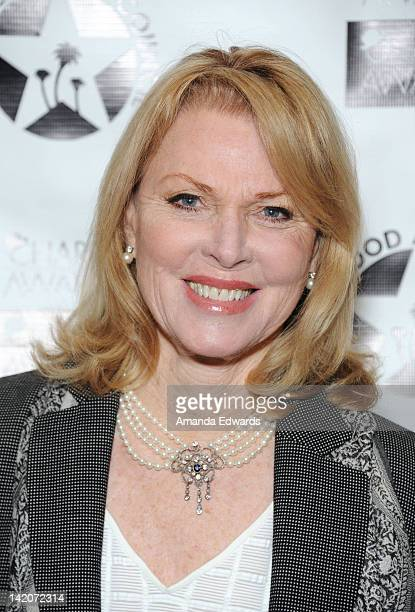 Actress Mariette Hartley arrives at the 26th Annual Charlie Awards Luncheon at the Hollywood Roosevelt Hotel on March 29 2012 in Hollywood California