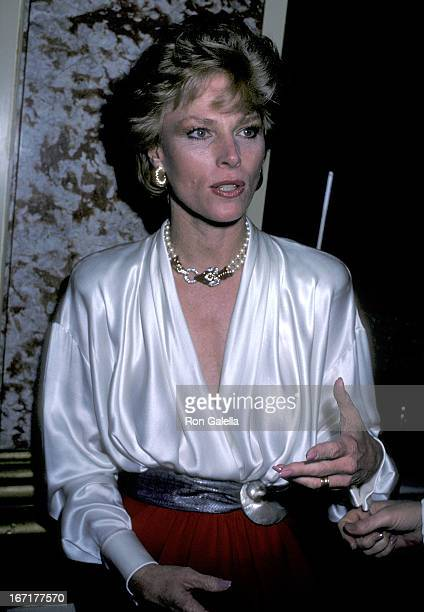 Actress Mariette Hartley attends the Casting Society of America's Second Annual Artios Awards on October 29 1989 at the Beverly Wilshire Hotel in...