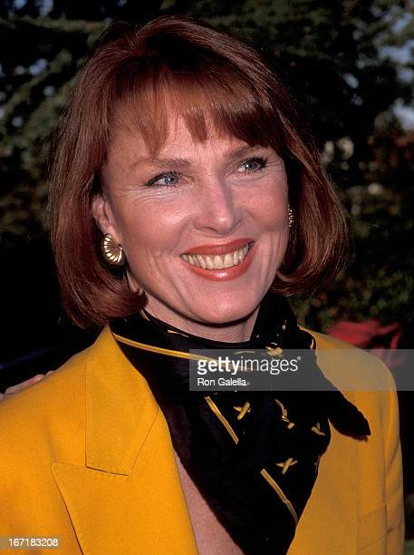 Actress Mariette Hartley attends the Michael Bass' Second Annual Holiday Party to Benefit the Toyskis for Totskis Campaign on December 19 1992 at a...