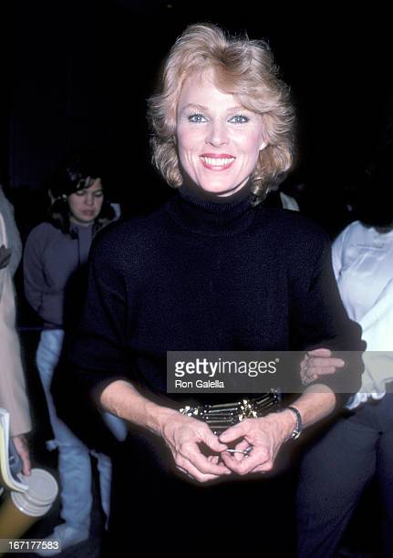 Actress Mariette Hartley attends the National Organization for Women's 20th Anniversary Celebration on December 1 1986 at the Dorothy Chandler...