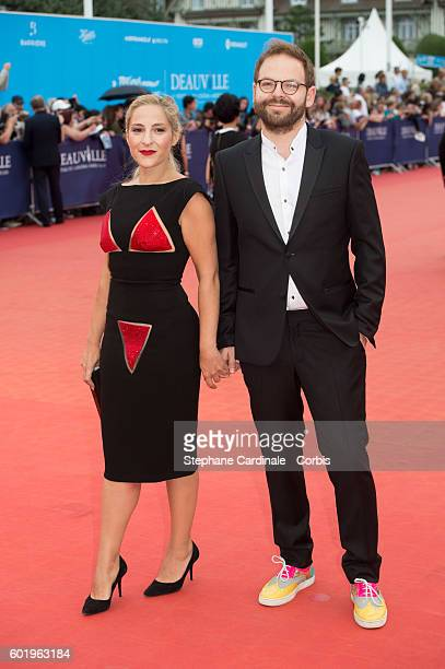Actress Marilou Berry and Arnaud Schneider attend the Closing Ceremony of the 42nd Deauville American Film Festival on September 10 2016 in Deauville...