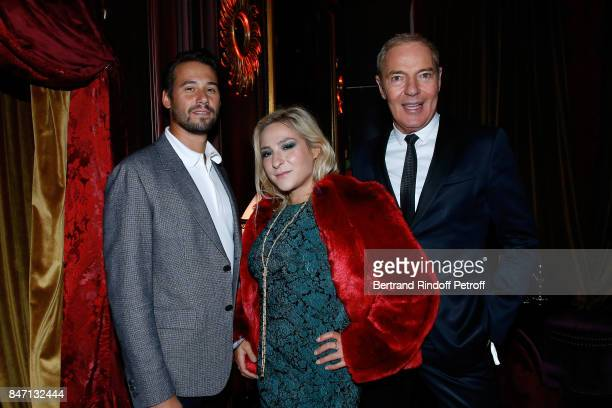 Actress Marilou Berry and Head of sales and Marketing Europe of Brand Cadieux Tony Gomez attend the Reopening of the Hotel Barriere Le Fouquet's...
