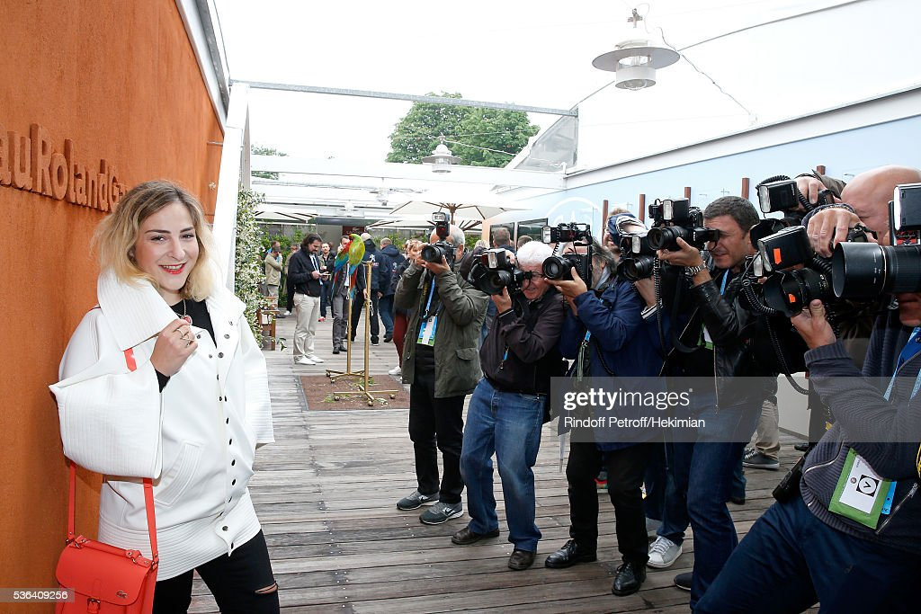 Celebrities at French Open 2016 - Day Eleven