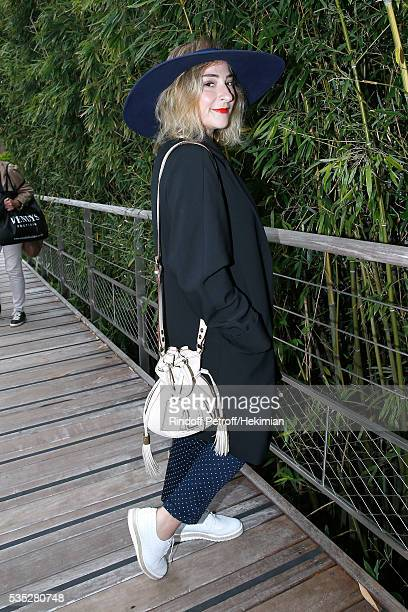 Actress Marilou Berry attends Day Height of the 2016 French Tennis Open at Roland Garros on May 29 2016 in Paris France