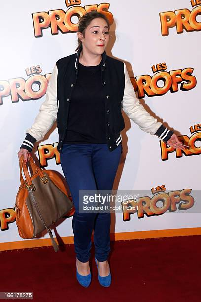 Actress Marilou Berry attends 'Les Profs' Movie Premiere at Le Grand Rex on April 9 2013 in Paris France
