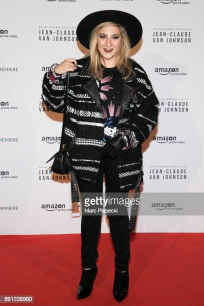 Actress Marilou Berry attends the Amazon TV series 'Jean Claude Van Johnson' Premiere at Le Grand Rex on December 12 2017 in Paris France
