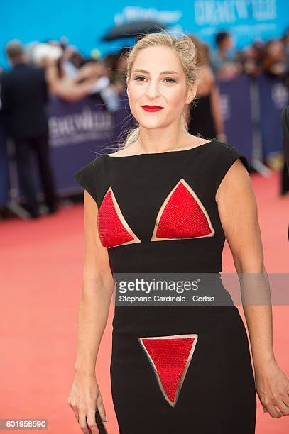 Actress Marilou Berry attends the Closing Ceremony of the 42nd Deauville American Film Festival on September 10 2016 in Deauville France