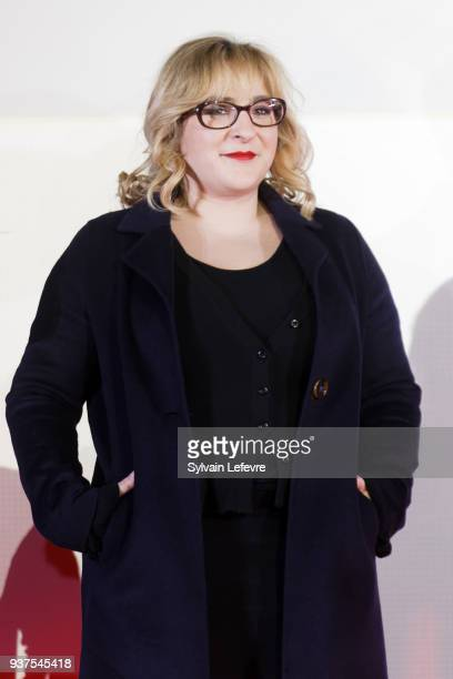 Actress Marilou Berry attends the closing ceremony of Valenciennes Film Festival on March 24 2018 in Valenciennes France