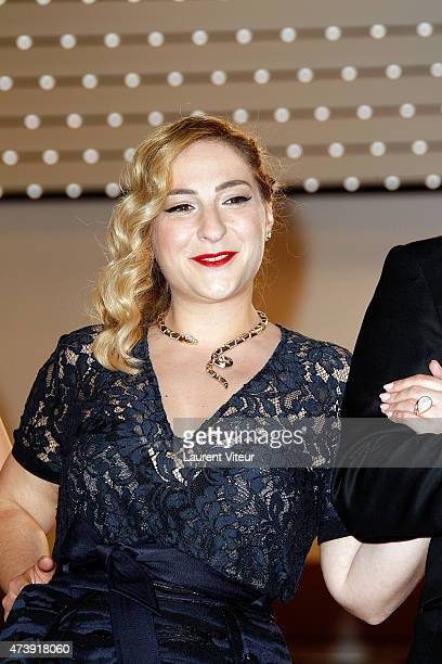 Actress Marilou Berry attends the 'Inside Out' premiere during the 68th annual Cannes Film Festival on May 18 2015 in Cannes France