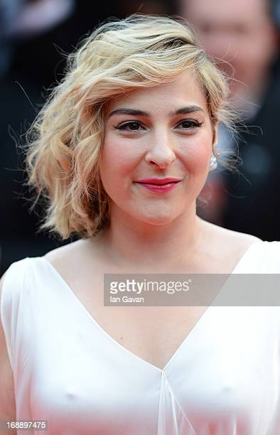 Actress Marilou Berry attends the 'Jeune Jolie' premiere during The 66th Annual Cannes Film Festival at the Palais des Festivals on May 16 2013 in...