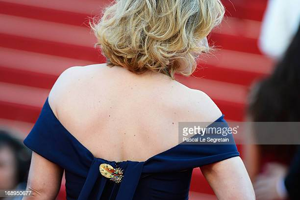 Actress Marilou Berry attends the Premiere of 'Le Passe' during The 66th Annual Cannes Film Festival at Palais des Festivals on May 17 2013 in Cannes...