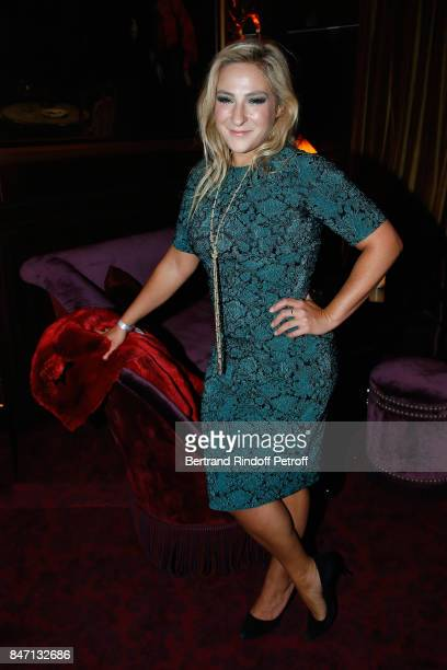 Actress Marilou Berry dressed in Cadieux attends the Reopening of the Hotel Barriere Le Fouquet's Paris decorated by Jacques Garcia at Hotel Barriere...