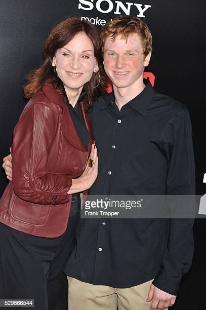 Actress Marilu Henner and son Joseph Marlin arrive at the premiere of Columbia Pictures' 21 Jump Street held at Grauman's Chinese Theater in Hollywood