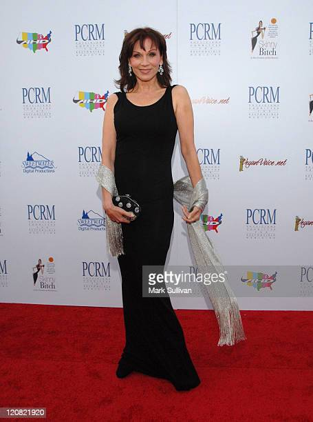 Actress Marilu Henner arrives at The Art of Compassion PCRM 25th Anniversary Gala at The Lot in West Hollywood on April 10, 2010 in West Hollywood,...