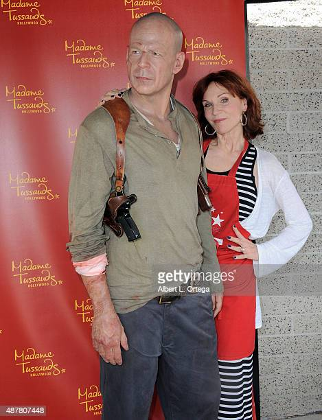 Actress Marilu Henner at the Hollywood Chamber Of Commerce Police And Firefighters Appreciation Day held at LAPD Hollywood Division on September 11...