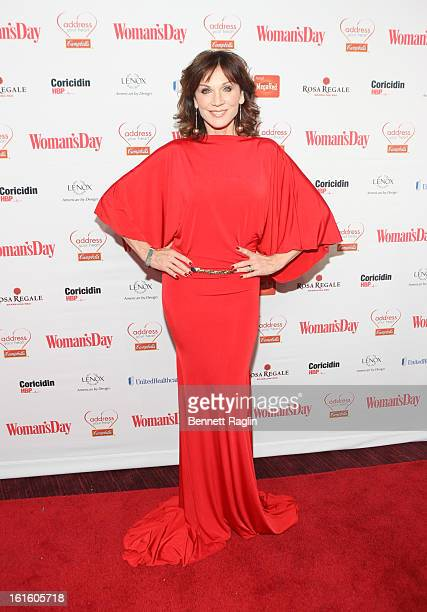 Actress Marilu Henner attends the 10th Annual Red Dress Awards at Jazz at Lincoln Center on February 12 2013 in New York City