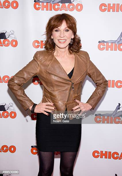 Actress Marilu Henner attends the 7486th performance of 'Chicago' the second longest running Broadway show of all time at Ambassador Theater on...