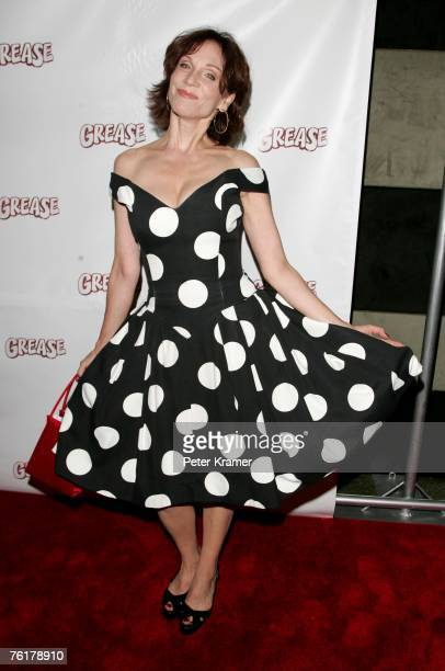 Actress Marilu Henner attends the after party for the opening night of the Broadway musical 'Grease' on August 19 2007 in New York City