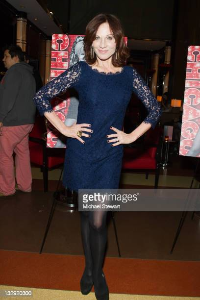 Actress Marilu Henner attends the 'Chicago' 15th Anniversary celebration performance at The Lambs Club on November 14 2011 in New York City