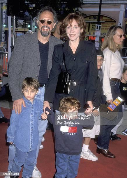 Actress Marilu Henner husband Director Robert Lieberman and sons Joseph Lieberman and Nicholas Lieberman attend the Hollywood Premiere of 'The...